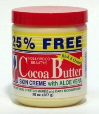 Hollywood Beauty Cocoa Butter & Aloe Vera Skincare Creme