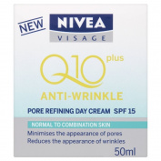Nivea Visage Anti-wrinkle Q10Plus Pore Refining Day Cream SPF 15 50ml