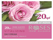 Vitalizing Day Cream SPF 20 with Q10, Rose Oil and Vitamin E 50ml