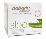 Babaria Naturals Aloe Vera Anti-wrinkle Moisturising Face Cream 50ml