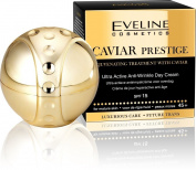 Ultra Active Anti-Wrinkle Day Cream CAVIAR Prestige SPF 15 REJUVENATING TREATMENT WITH CAVIAR
