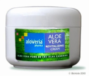 ALOVERIA® PHARMA revitalising CREAM - nourishing skin care with 30% Aloe Vera of ecological plantations in Canary Island. 200ml