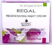 INTENSIVELY REGENERATING NIGHT CREAM With MAGNOLIA EXTRACT & BIOPEPTIDE-CL - For all Types of Skin