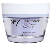 No7 Boots Beautiful Skin Night Cream for Dry/Very Dry 50ml