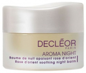 Decleor Aroma Night - Rose D'Orient Soothing Night Balm 15ml - Revives Sensitive Skin