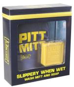 Plain Lazy Slippery When Wet - Wash Mitt and 100g Soap Set
