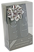 Pinstripe Shower Gift Set for Men