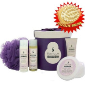 Sanctuary Mum To Be Ultimate Retreat Hat Box Gift Set with Cellulite Brush