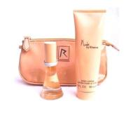 Rihanna Nude Set 15ml  Eau De Parfum   90ml Body Lotion + cosmetic pouch