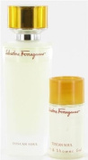 Tuscan soul by Salvatore Ferragamo - set with shower gel 75 ml + 40 ml