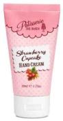 Rose And Co Patisserie De Bain STRAWBERRY CUPCAKE Hand Cream Tube 50ml