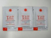TanTowel Exfoliating Towelette 3-in-1 Exfoliator/ Buffer/ Moisturiser Sachet