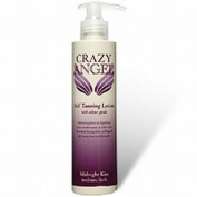 Crazy Angel Self Tanning Lotion With Colour Guide Midnight Kiss Medium / Dark 8% DHA 200ml