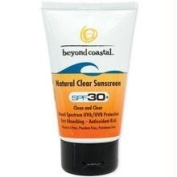 Beyond Coastal Natural Clear SPF30 Sunscreen, 120ml