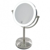 Clearview 19cm LED Tabletop Illuminated Magnifying Mirror 10x Magnified MLMIR105