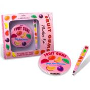 Fruit Gums Plucker Kit (Tweezers & Magnifying Mirror Compact) - Mad Beauty