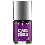 Nails Inc Special Effects Hoxton Crackle Top Coat Purple 10ml