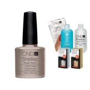 Cnd Shellac Usa Starter Kit - Cityscape Colour Starter Kit - Top & Base Coat + Essentials