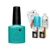Cnd Shellac Usa Starter Kit - Hotski To Tchotchke Colour Starter Kit - Top & Base Coat + Essentials