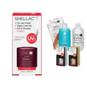 Cnd Shellac Usa Starter Kit - Masquerade Colour Starter Kit - Top & Base Coat + Essentials