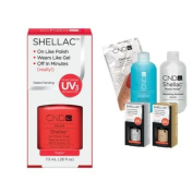 Cnd Shellac Usa Starter Kit - Tropix Colour Starter Kit - Top & Base Coat + Essentials