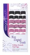 Miss Elegant Touch Miss ET Glitter French Tips - 4030403