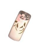Millennium Nails Pre Designed 70 Transparent Nail Tips 05 - MILMTAN05