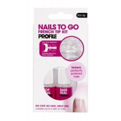 Salon System Nails-To-Go French Tip Kit Thin - OAP212454