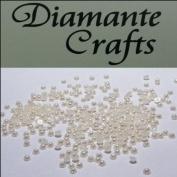 300 x 1mm Ivory Round Pearl loose Rhinestone Gems