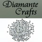 300 x 4mm Clear Round Diamante loose Rhinestone Gems
