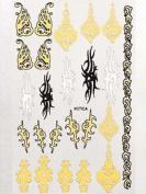 Millennium Nails Nail Art Water Decals - Xotica - MILMHSWD07