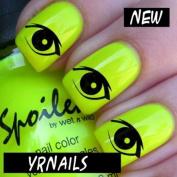Beautiful Eyes Nail Decals by YRNails