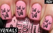 Butterflies Nail Decals by YRNails
