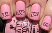 Comic Book Zap - Nail Decals by YRNails