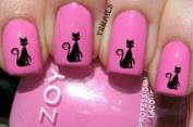 Elegant Cat - Nail Decals by YRNails