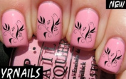 Floral 3 Nail Decals by YRNails