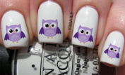Goggly Eyes Owl - Nail Decals by YRNails