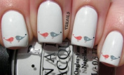 Love Birds - Nail Decals by YRNails