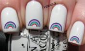 Multi Rainbow - Nail Decals by YRNails