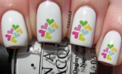 Tiny Hearts of Colour - Nail Decals by YRNails