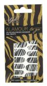 Girls with Attitude Glamour to Go Zebra Designer Nail Wraps