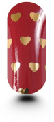 Kooky Hearts Gold With Burgundy Wraps - TBP16721
