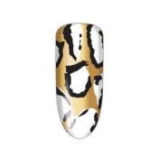 Nail Rock Nail Wraps Nail Rock Pony Skin Gold, Black & White Nail Wraps