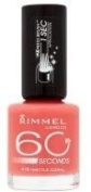 Rimmel London 60 Seconds Nail Polish - 416 Instyle Coral