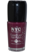 NYC 205 Boundless Berry Expert Last Nail Polish Up To 7 Day Wear 0.33FL OZ/9.7ML