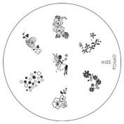 Konad Stamping Nail Art Image Plate M35