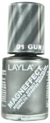 Layla Cosmetics Magneffect Layla 01 Gun Metal 10ml