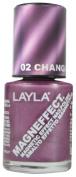 Layla Cosmetics Magneffect Layla 02 Changing Lilac 10ml