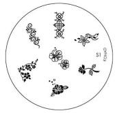 Konad Stamping Nail Art Image Plate S1