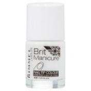 Rimmel London Brit Manicure - Nail Tip Colour Porcelain 12ml